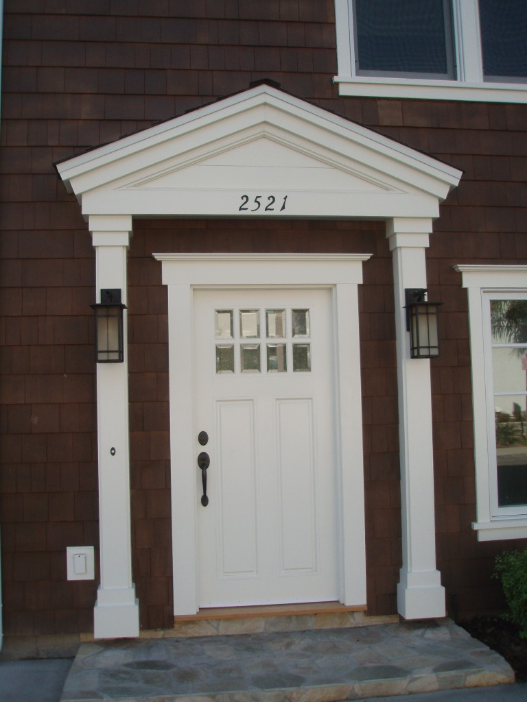 Front Entry of 2521 2nd St. CDM, CA.