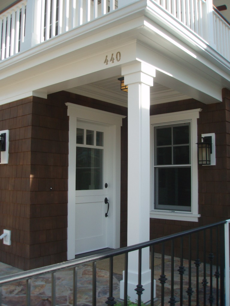 Entry Porch of 440 Carnation Ave. CDM, CA.