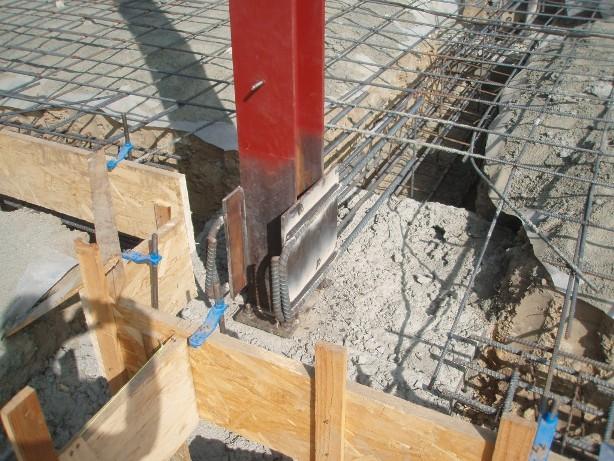 Steel Beam and Footing