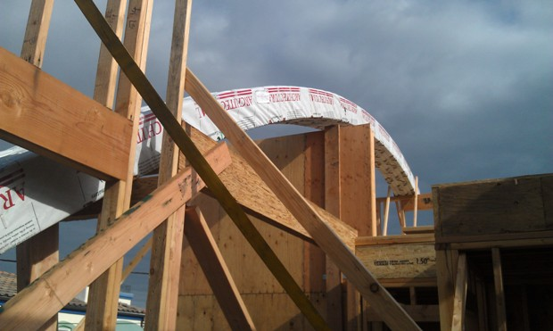 Curved Structural Roof Beams