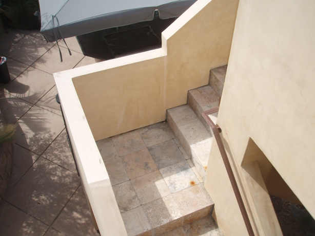 Master Balcony Staircase
